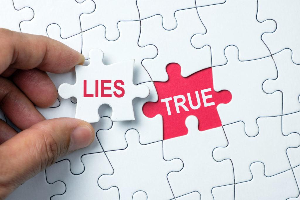 ない が 正しい は の 嘘 偽り こと